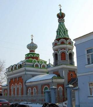 храм Успения Пресвятой Богородицы в Моршанске